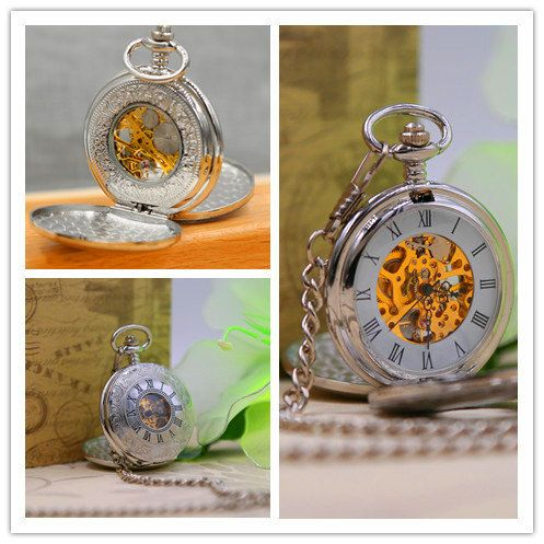 Personalized Steampunk Pocket Watch Mens by PocketWatchEngraved