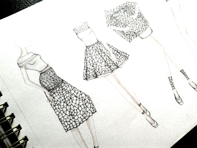 Fashion Sketch #Pantone #Sketchpad