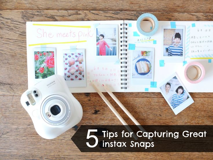 5 Tips for capturing great instax snaps #instax #instantphotography