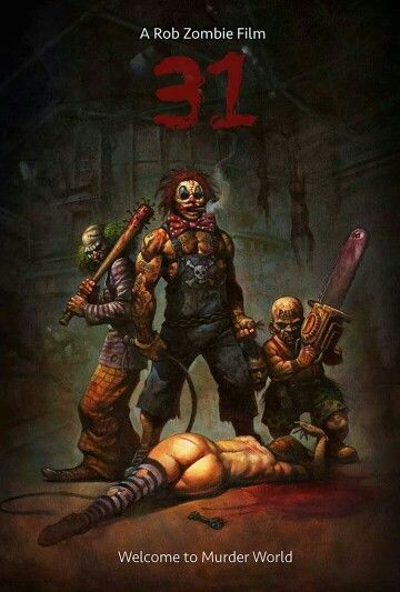Rob Zombie 31 clowns