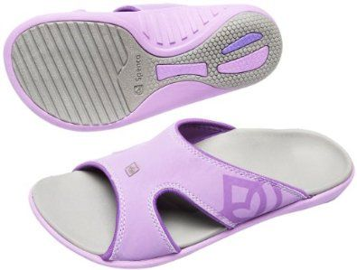 Spenco Polysorb Total Support Kholo Sandals, Dove Grey/Purple, Women's 10 Spenco. $40.76