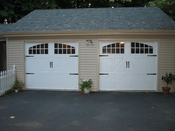 25 best ideas about standard garage door sizes on for Standard 2 car garage door