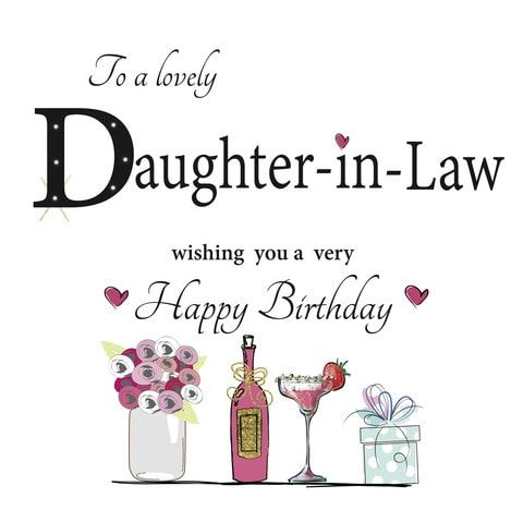 Birthday wishes for daughter in law - best daughter in law birthday wishes to say happy birthday daughter in law - happybirthdaytoall.com