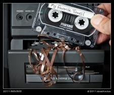 Recording music from the radio.. those were the days! oh!! your tape gets all screwed up. who hated that? lol...