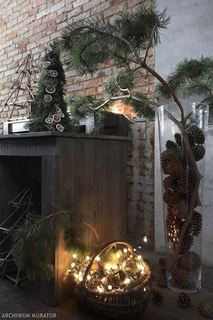 Naturalne ozdoby świąteczne.