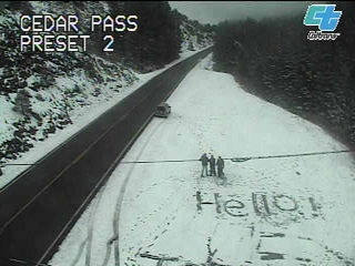 Cedar PassVollmer Cam, Onramp Roads, Cedar Pass, Cam Sha, 2007 States, Weather Data, Policy, Vollmer Onramp, Roads Weather
