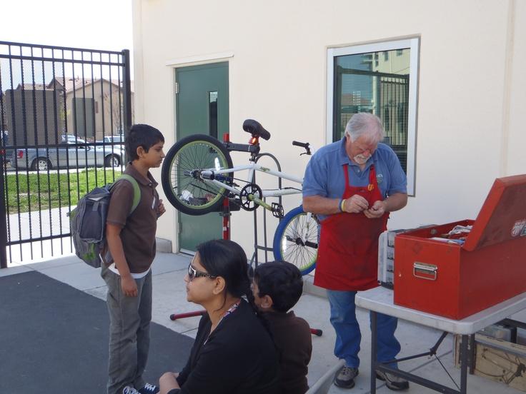 Our bike mechanics are awesome!