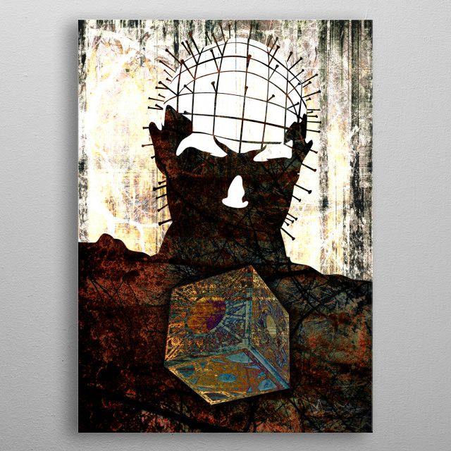 ABSTRACT Art 021 Metal Poster Wall Art