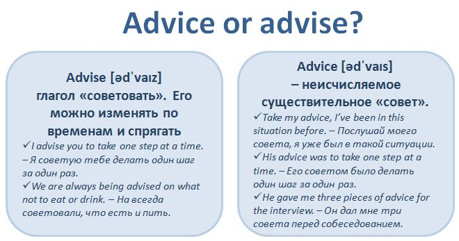 Advise or Advice #English #Vocabulary #английский #словарь