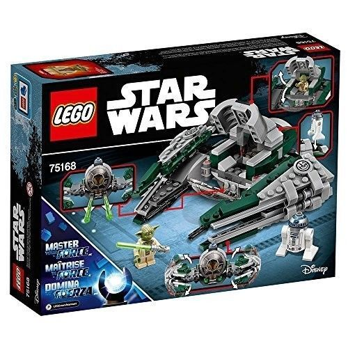 Star Wars Yoda's Jedi Starfighter 75168 Unforgettable Fans Star Wars Toy Ages 8+ #LEGO