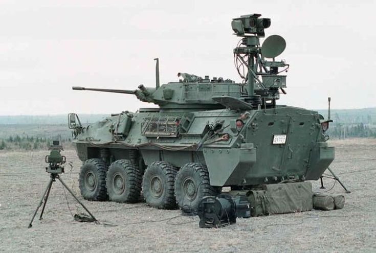 Canadian LAV III w/surveillance eqpt