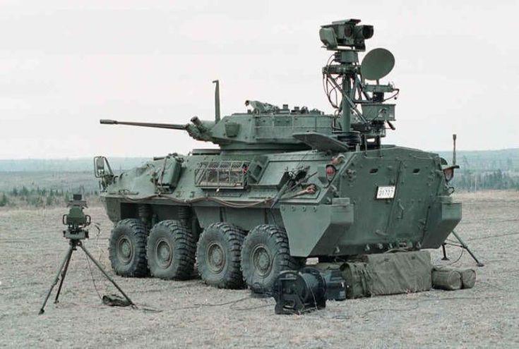 Canadian LAV III w/surveillance eqpt