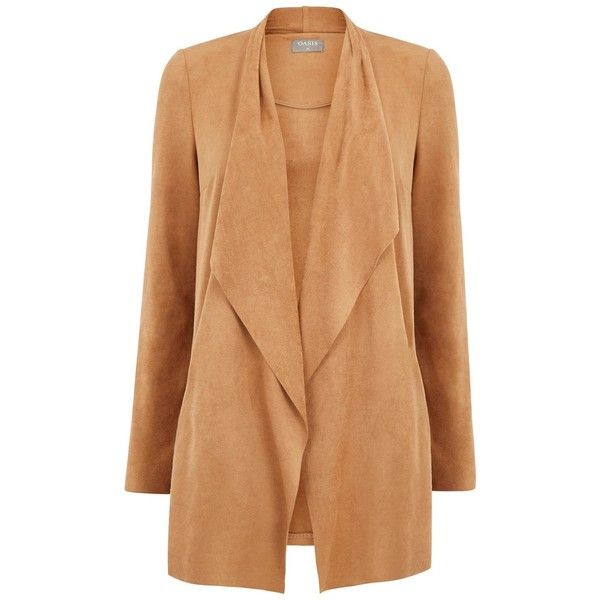 See this and similar Oasis jackets - So soft and effortlessly stylish this silky suedette blazer has been busy making hearts race at Oasis head office. Top tip:...