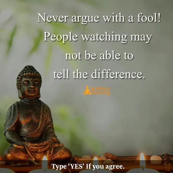 Never Argue With A Fool Photo Quotes Buddha Quote