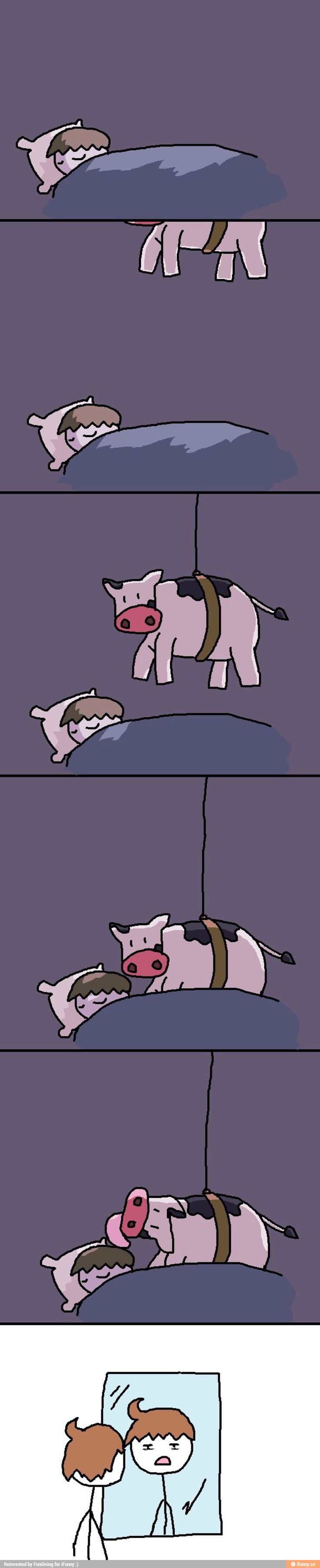 The truth about cow licks