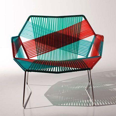 tropicalia chairs by patricia urquiola.