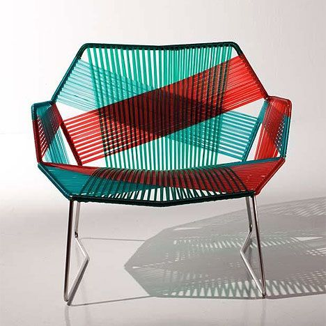 tropicalia chairs by patricia urquiola.  it fabulous. It looks like blood in water.