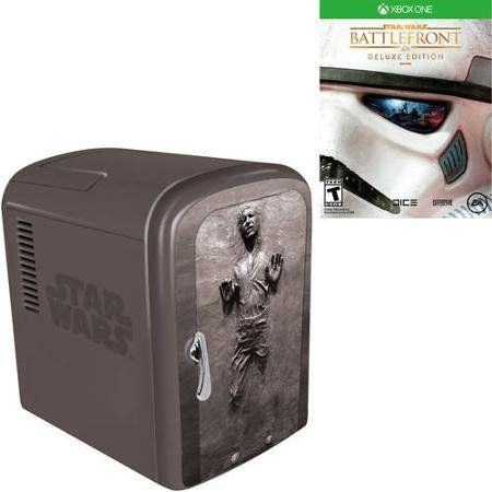 Star Wars Battlefront Deluxe Edition (Xbox One) with Han Solo Fridge