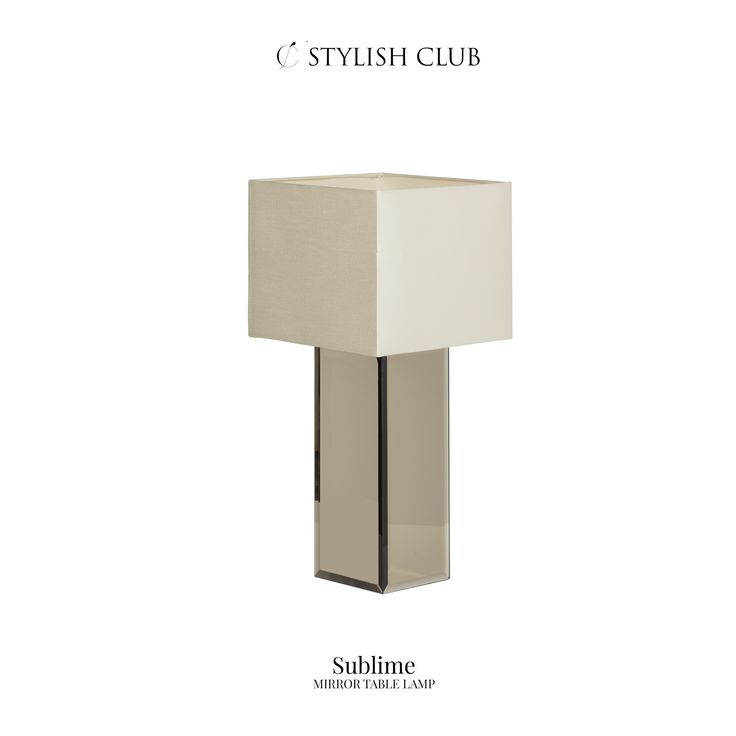 The Sublime mirror table lamp can turn a simple room into a glossy-magazine-worthy space with the simple flick of a switch.