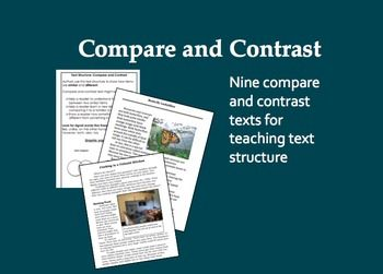 compare and contrast the presentation o Here is a simple technique to improve your presentation, speech or essay it is the compare and contrast it is one of those old oratory techniques that has been used.