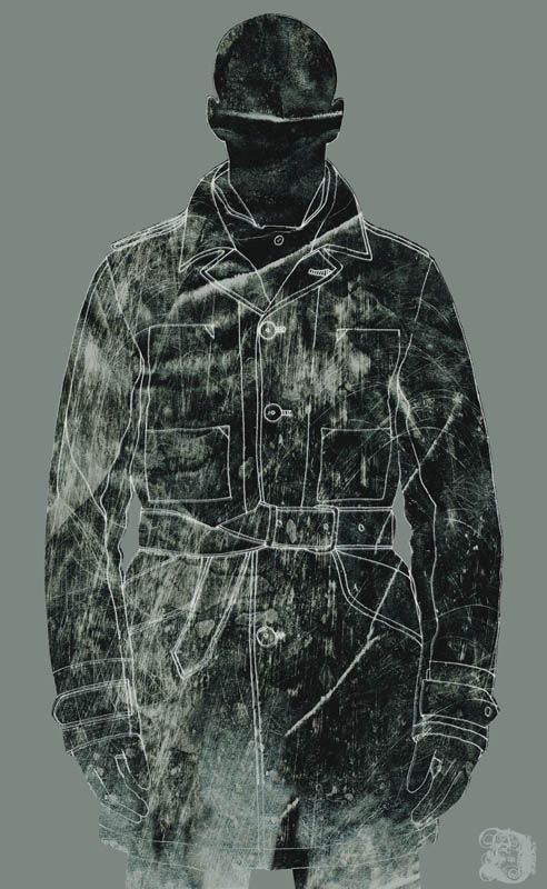 Paul Desmond - 'fashion' illustration