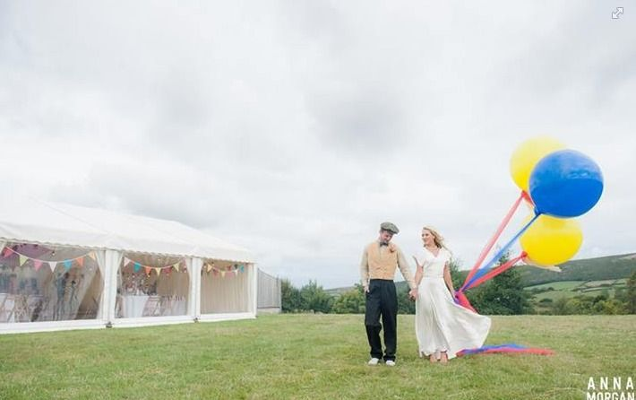 statement balloons? great for a carnival themed day