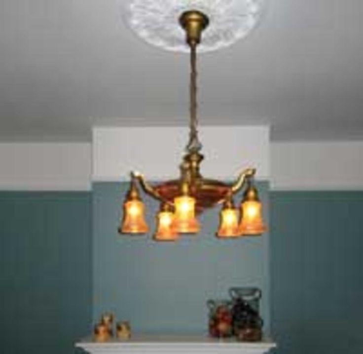 Stunning How To Rewire an Antique Light Fixture