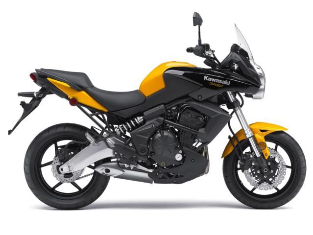 10 Great Motorcycles for Advanced Beginners: 2012 Kawasaki Versys ($7,899)