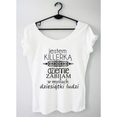 Time For Fashion Killerka / t-shirt biały