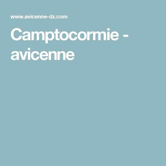 Camptocormie - avicenne
