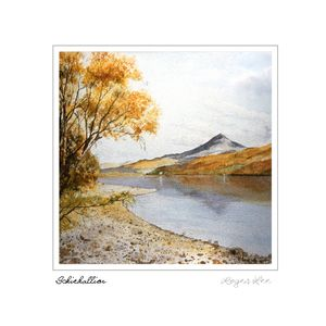 Schiehallion greetings card by Roger Lee