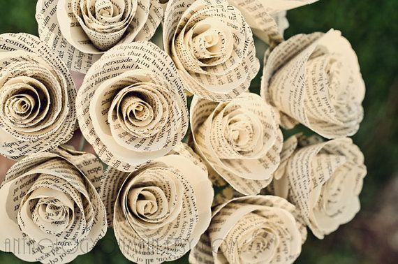 Spruce up your home decor with these beautiful book flowers, perpetually in bloom. #RandomHouseBooks