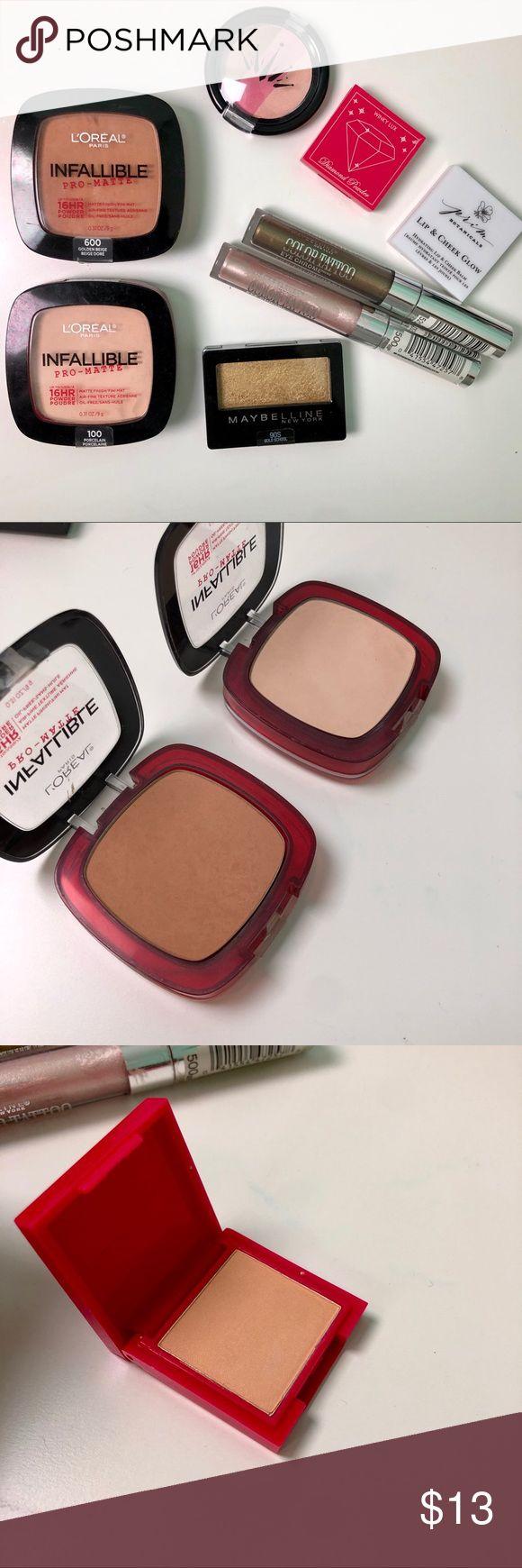 Makeup bundle Maybelline color tattoo eye chrome, Color