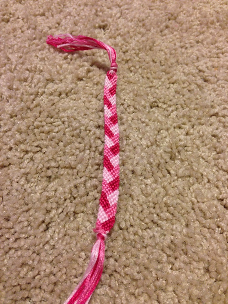 Shades of Pink, braid pattern! For sale, $3.50