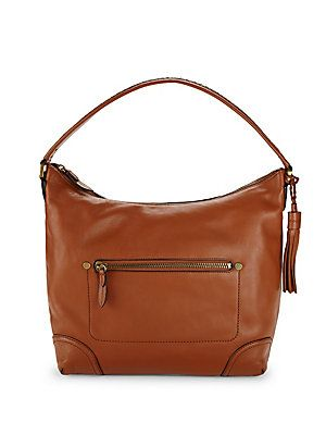 COLE HAAN SADDLE HOBO BAG. #colehaan #bags #shoulder bags #hand bags #leather #hobo #
