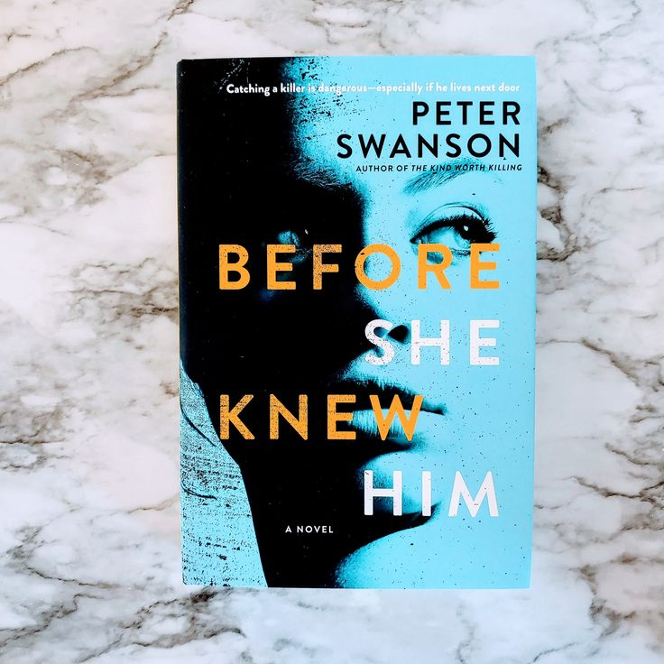 Its the latest book by peter swanson this is an