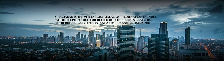 #Ghaziabad is the 9th largest urban agglomeration in #India