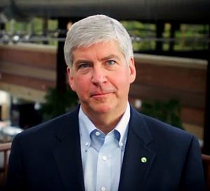 English: Michigan Gov. Rick Snyder (Photo credit: Wikipedia) One of the enduring myths of legislation designed to bring 'right-to-work' laws to the states is the notion that these laws actually have something to do with the right to work. They decidedly do not. While—as we will see—the misnomer has nothing whatsoever to do [...]