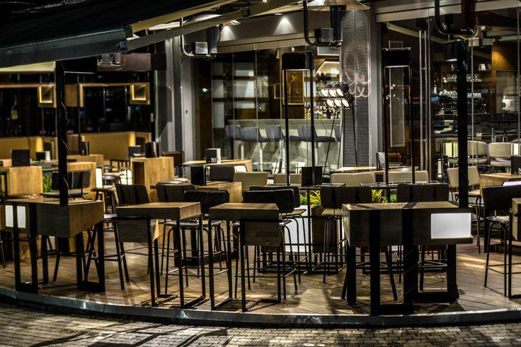 cafe - bar, AVANT GARDE. Komotini, Greece, By Architectures.