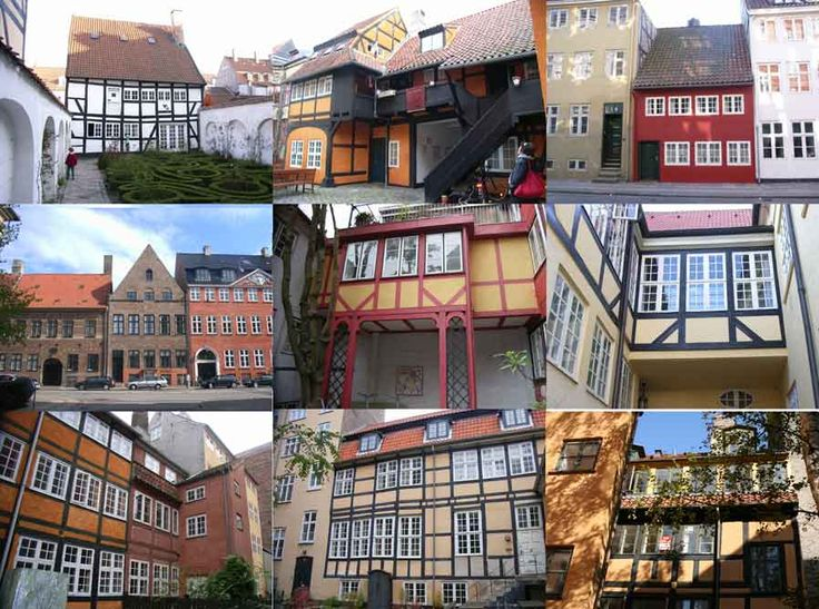 Homes from the middle ages in Denmark