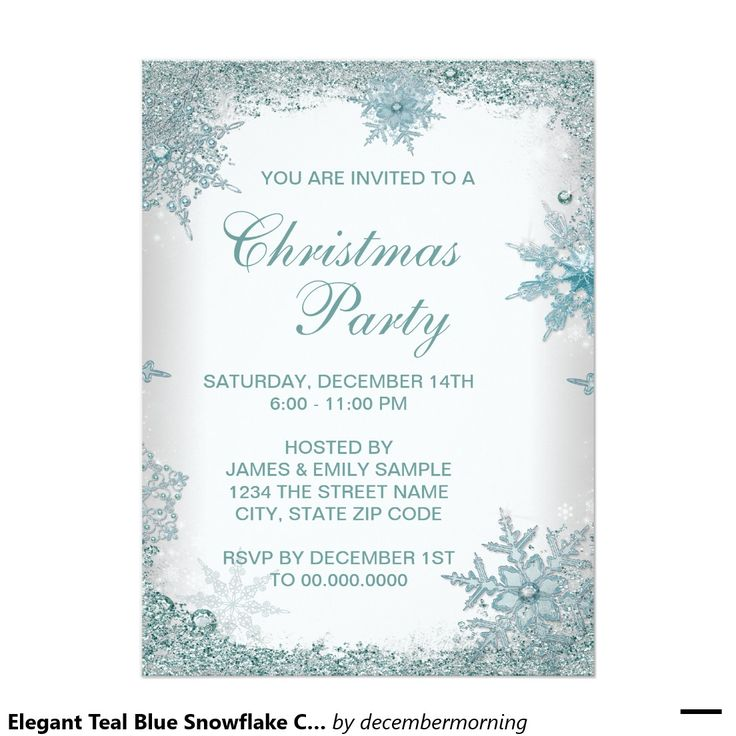 202 best Christmas Party Invitations images on Pinterest ...