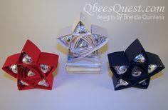 Qbee's Quest: Hershey's 5-Point Star Tutorial