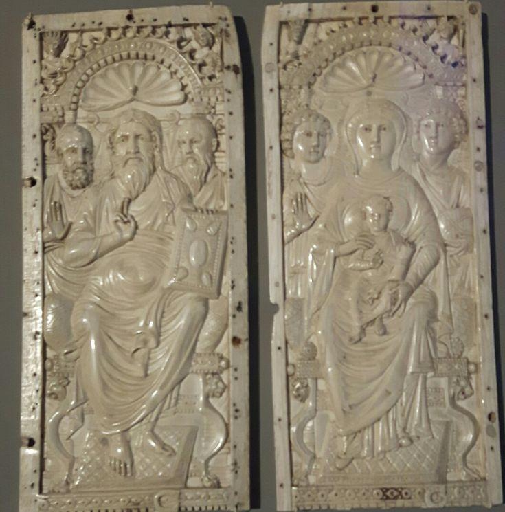 Dittico del VI sec. Costantinopoli  Bode Museum.