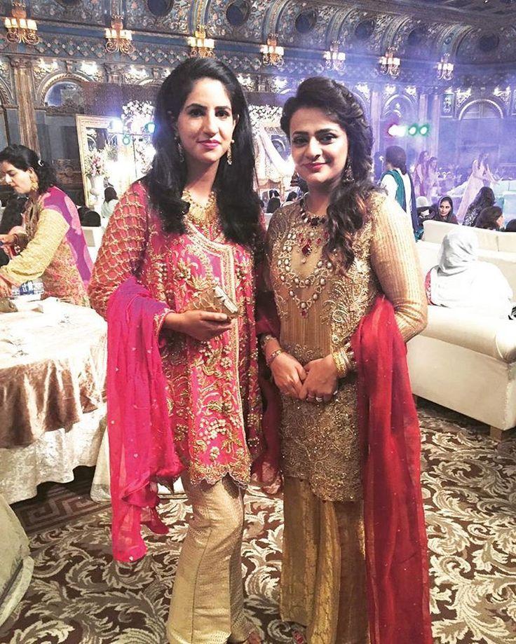 Fatima (on right )looks stunning in FarahandFatima #farahandfatima #formals #fashion #couture #clients