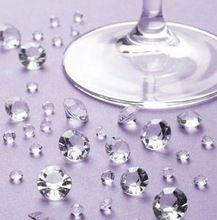 Nieuwe 2000 stuks 4.5mm helder acryl diamant verstrooit tafel verstrooit decoratie bruiloft evenement feestartikelen hete kralen(China (Mainland))