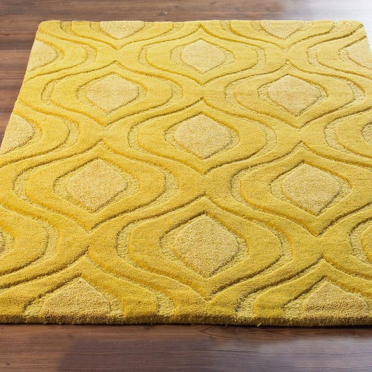 Plush Peacock Diamond Texture Rug