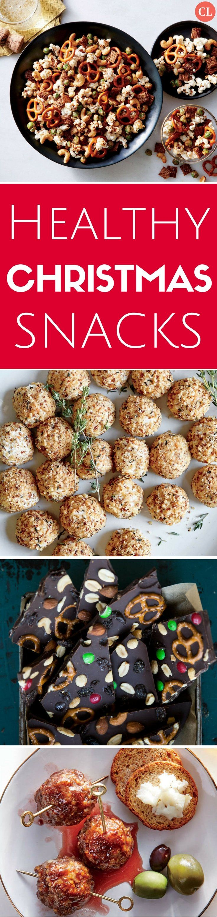 Healthy snacking during the holidays can be hard when endless appetizers and treats abound. Our healthy Christmas snacks can be enjoyed by the whole family between meals, before the holiday feast, or late at night. We celebrate the season with pomegranate seeds, squash varieties, spiced & roasted nuts, and cheesy bites.   Cooking Light