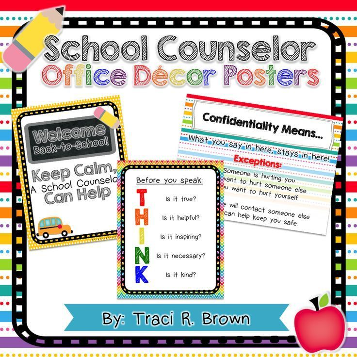 *FREEBIE* Posters for your school office or classroom! So fun and colorful! Rainbow edition. There is a bundle that goes with it with more items! ~