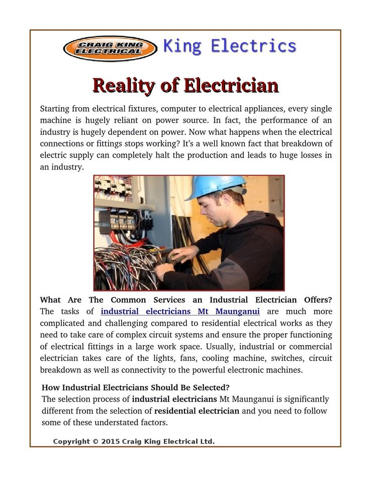 Are you searching for an #electrician ? But, first you can understand about the #electricians and after select. Here give some fact to useful in choosing an #electrical #service provider in #Tauranga and #MtMaunganui.
