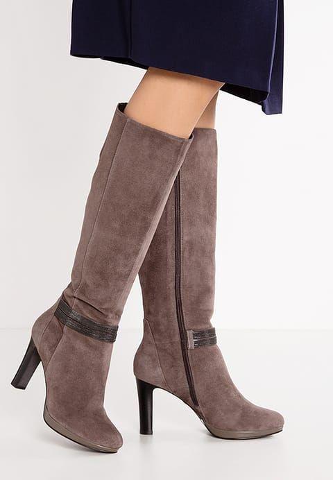 Zalando Belmondo High Heel Stiefel - taupe für 69,95 € (03.07.17) versandkostenfrei bei Zalando bestellen. #ZalandoBelmondo kaufen http://rstyle.me/~a0vU2